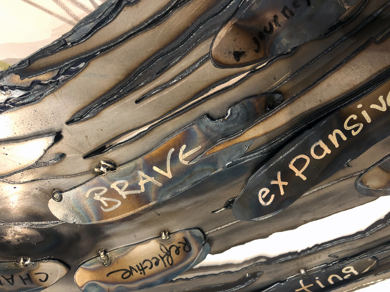 detail, Enso, Steel Circle of Enlightenment
